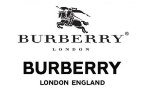 Burberry new logo, source Burberry
