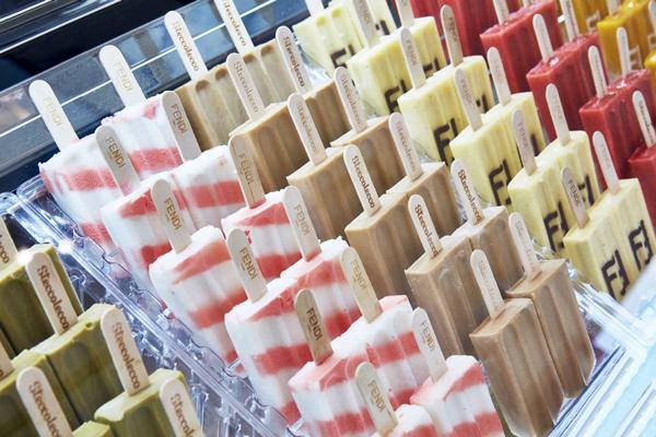Fendi Branded Ice Lollies