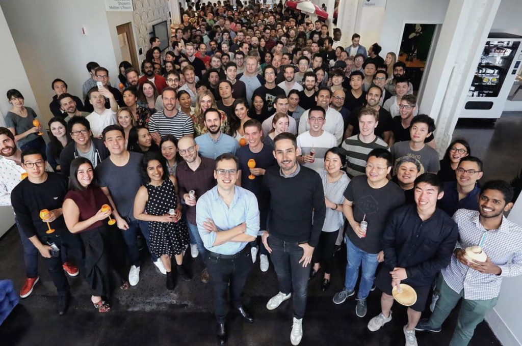 Source: Instagram - Instagram Founders Kevin Systrom and Mike Krieger resignSource: Instagram - Instagram Founders Kevin Systrom and Mike Krieger resign