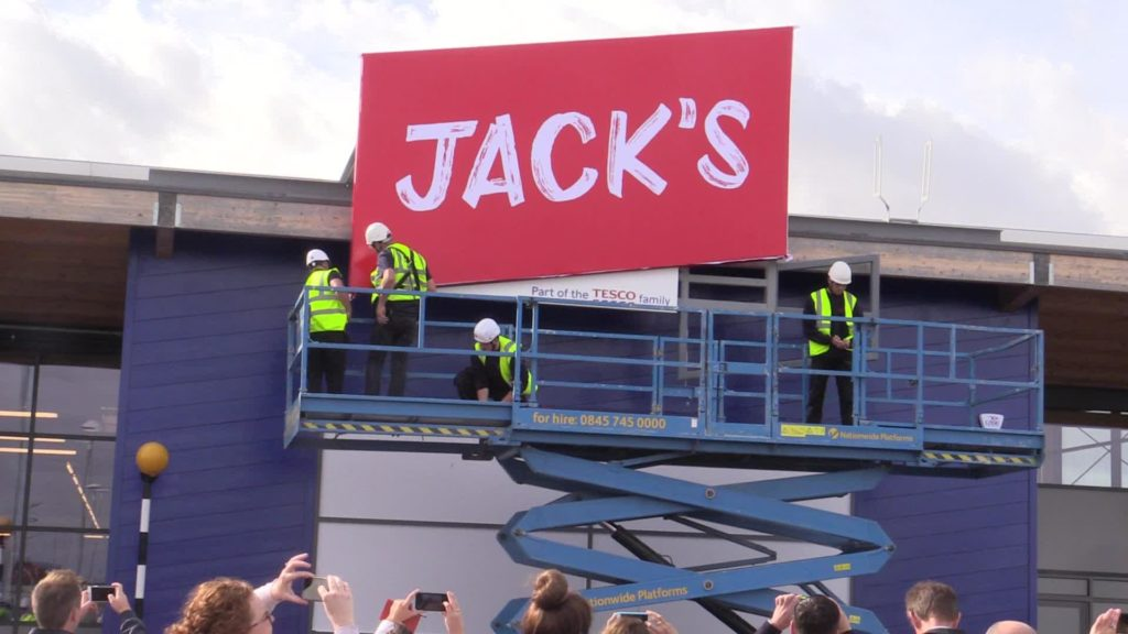Source: REUTERS - Jack's Tesco's Newest Market Chain